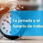 Jornada y horario de trabajo